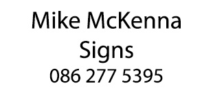 Mike McKenna Signs